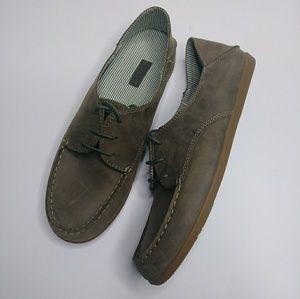 Olukai Heleuma Leather Shoes Slide Converter